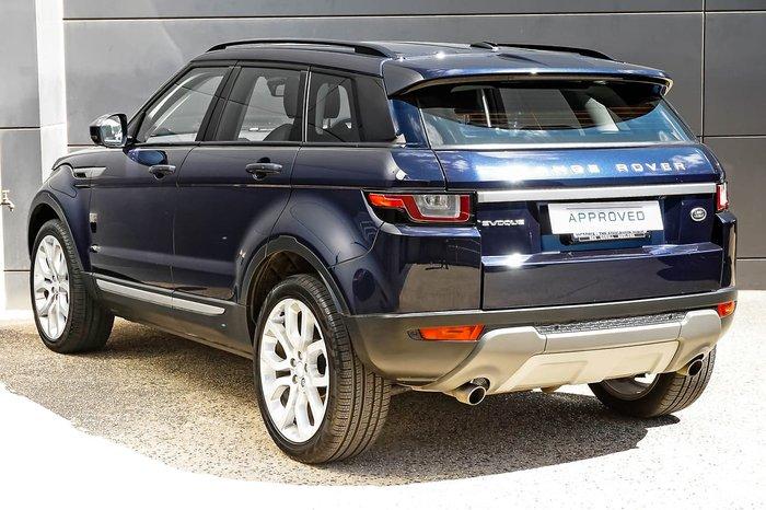 2016 Land Rover Range Rover Evoque TD4 180 SE L538 MY16.5 4X4 On Demand Blue