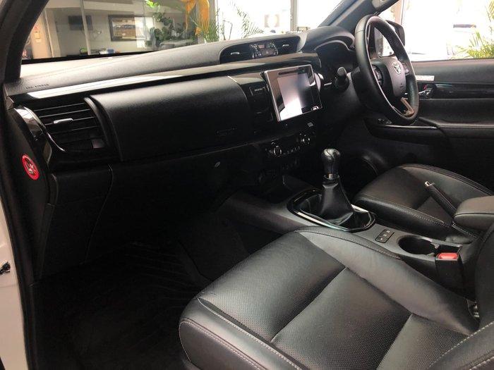 2019 Toyota Hilux Rugged X GUN126R 4X4 Dual Range Crystal Pearl