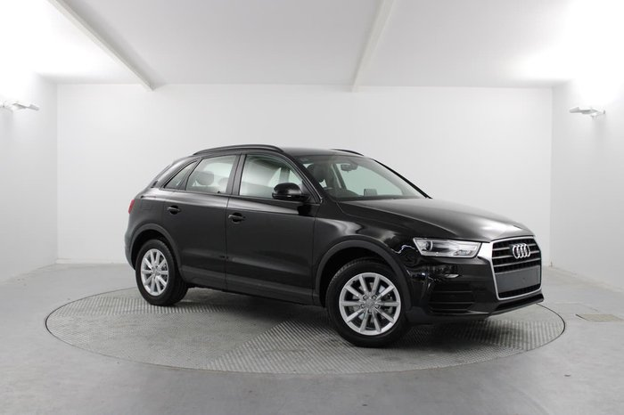 2018 Audi Q3 TFSI 8U MY18 Black