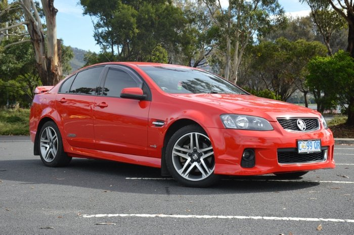 2012 Holden Commodore SS VE Series II MY12 RED