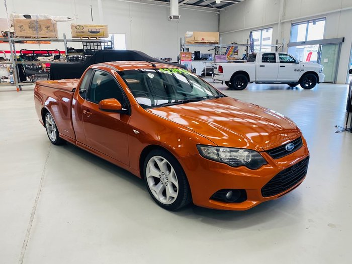 2011 Ford Falcon Ute XR6 FG MkII Orange