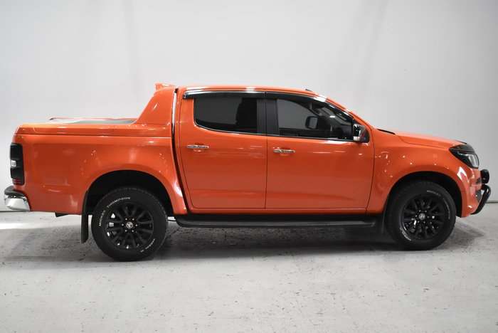 2018 Holden Colorado LTZ RG MY19 4X4 Dual Range Orange Crush