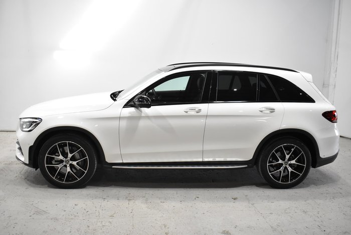 2020 Mercedes-Benz GLC-Class GLC300 X253 Four Wheel Drive Polar White