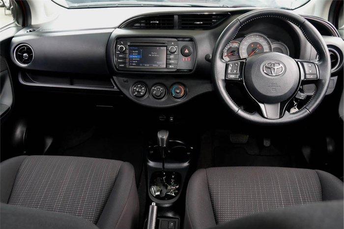 2018 Toyota Yaris SX NCP131R CHERRY RED