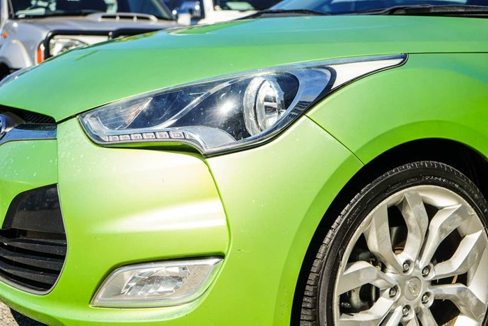 2012 Hyundai Veloster FS Green Apple
