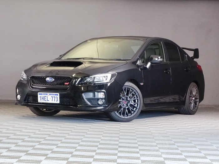 2016 Subaru WRX STI V1 MY17 AWD Crystal Black