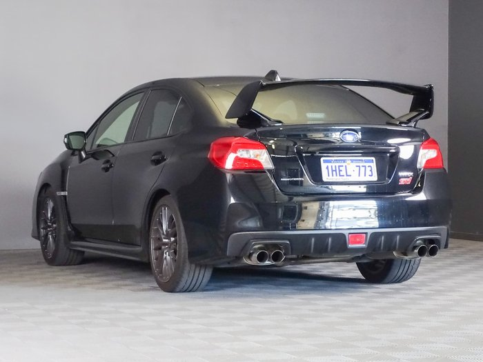 2016 Subaru WRX STI V1 MY17 AWD Crystal Black