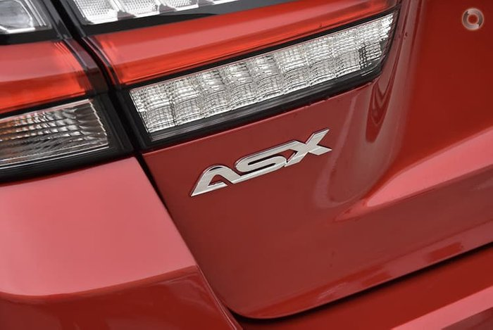 2020 Mitsubishi ASX ES XD MY21 Red Diamond
