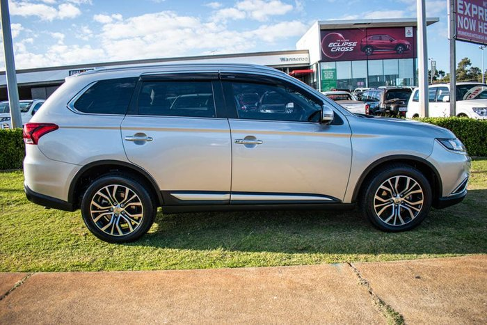 2018 Mitsubishi Outlander Exceed ZL MY18.5 AWD Sterling Silver