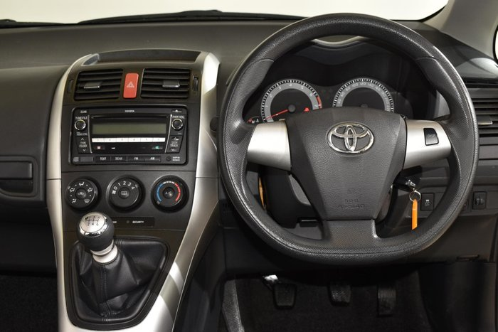 2010 Toyota Corolla Ascent ZRE152R MY10 Grey