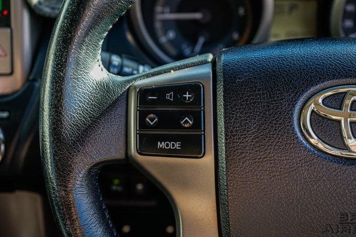 2011 Toyota Landcruiser Prado GXL KDJ150R 4X4 Constant Glacier White
