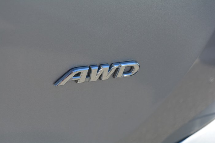 2016 Toyota RAV4 GX ASA44R AWD Silver Sky