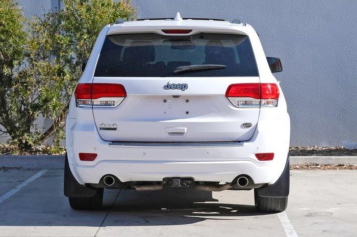 2018 Jeep Grand Cherokee Limited WK MY19 4X4 Dual Range White