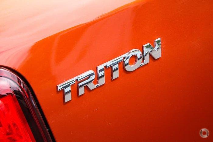 2021 Mitsubishi Triton GSR MR MY21 4X4 Dual Range Sunflare Orange with Black Roof