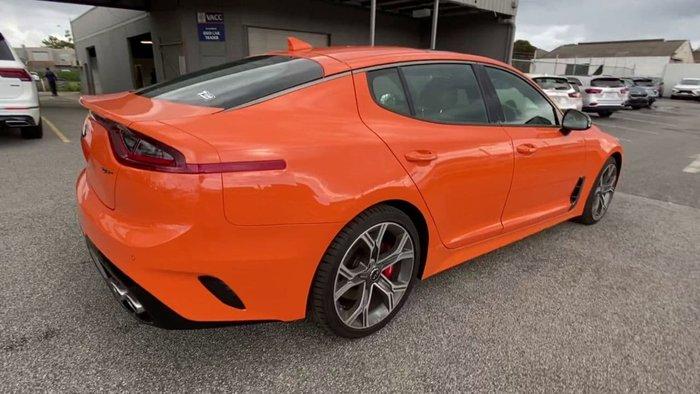 2020 Kia Stinger GT CK MY20 Orange