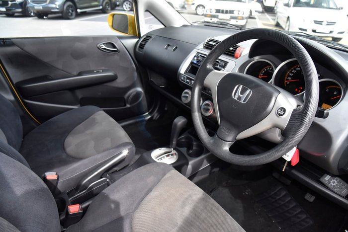 2007 Honda Jazz VTi GD Helios Yellow
