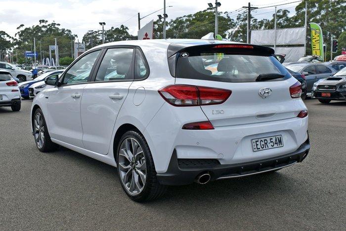 2020 Hyundai i30 N Line PD.3 MY20 Polar White