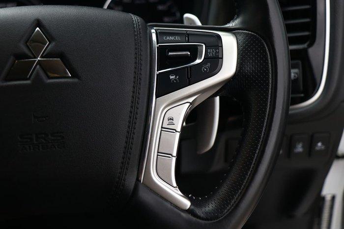 2018 Mitsubishi Outlander PHEV ES ADAS ZL MY19 AWD White