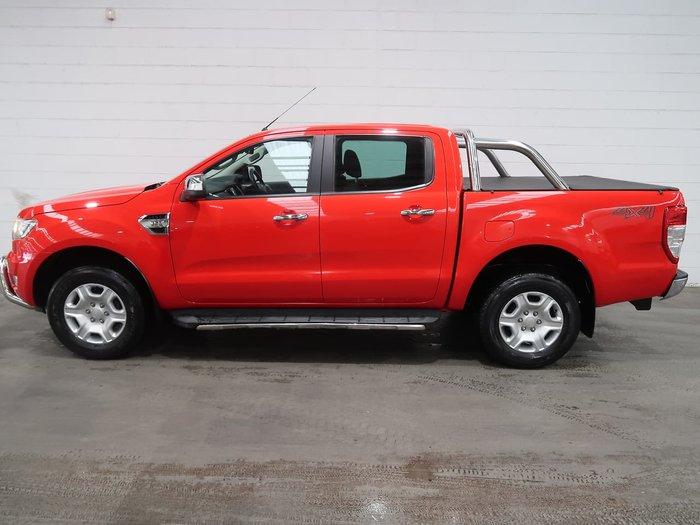 2015 Ford Ranger XLT PX MkII 4X4 Dual Range Red