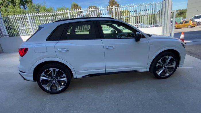 2021 Audi Q3 40 TFSI S Line F3 MY21 Four Wheel Drive Glacier White