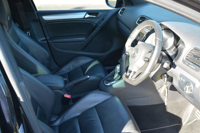 2012 Volkswagen Golf R VI MY13 Four Wheel Drive Deep Black