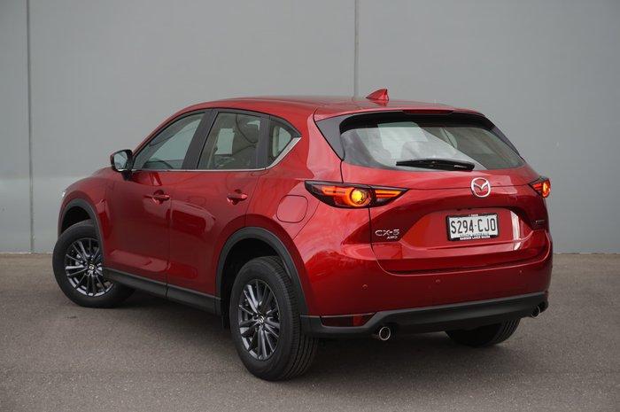 2021 Mazda CX-5 Maxx Sport KF Series AWD Soul Red Crystal