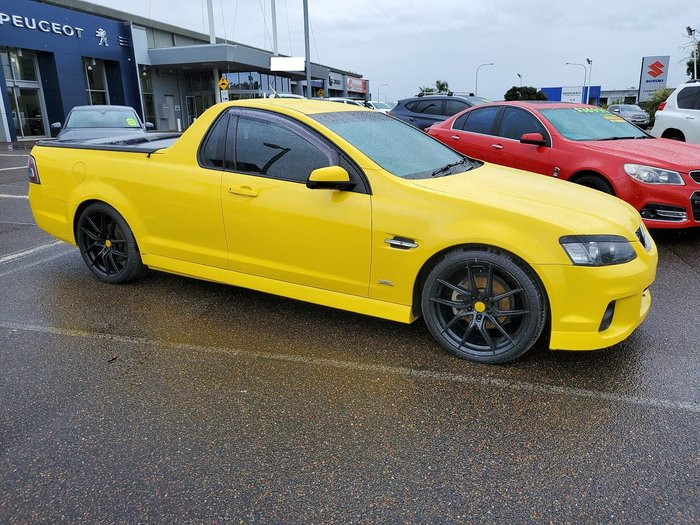 2012 Holden Ute SV6 Z Series VE Series II MY12.5 Yellow