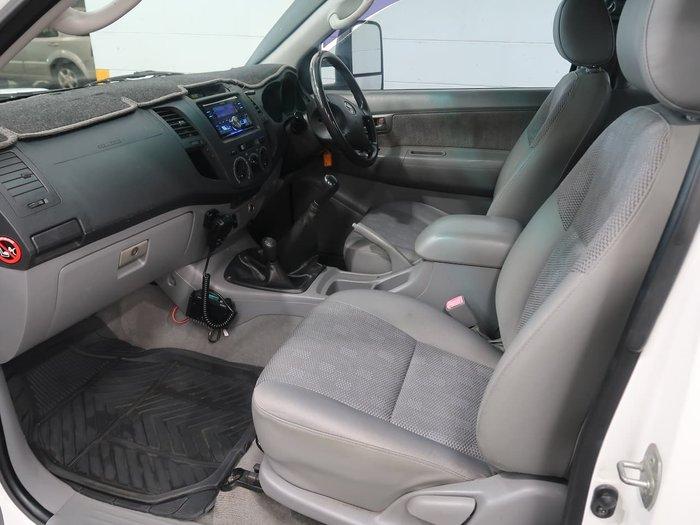 2006 Toyota Hilux SR KUN26R MY07 4X4 White