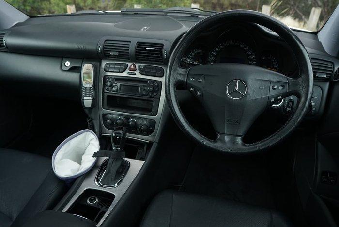 2002 Mercedes-Benz C-Class C180 Kompressor Sports CL203 MY03 White