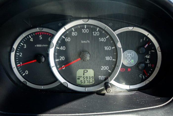 2012 Mitsubishi Triton GLX-R MN MY12 4X4 Dual Range Dark Blue