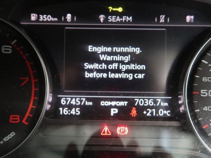 2016 Audi A4 sport B9 MY16 Blue