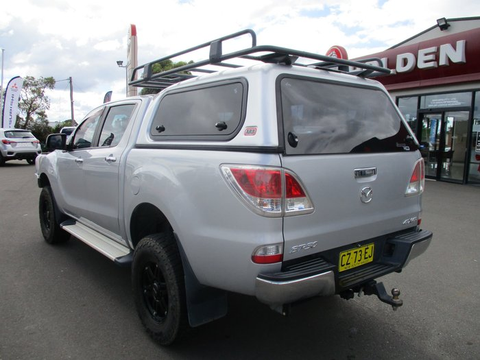 2013 Mazda BT-50 XTR UP 4X4 Dual Range Highlight Silver