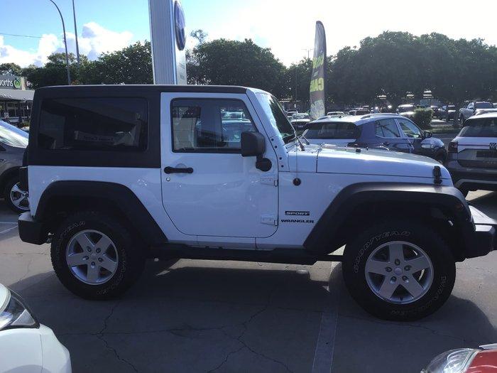 2013 Jeep Wrangler Sport JK MY13 4X4 Bright White