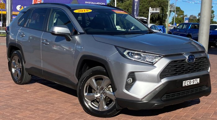 2019 Toyota RAV4 GXL AXAH54R 4X4 On Demand Silver