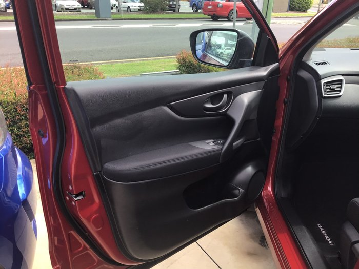 2017 Nissan QASHQAI ST J11 Series 2 Burgundy
