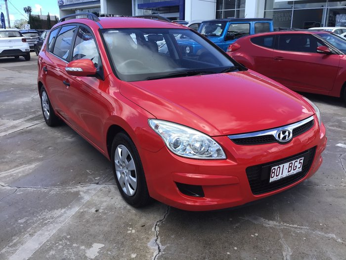 2010 Hyundai i30 Sportswagon FD MY10 Shine Red