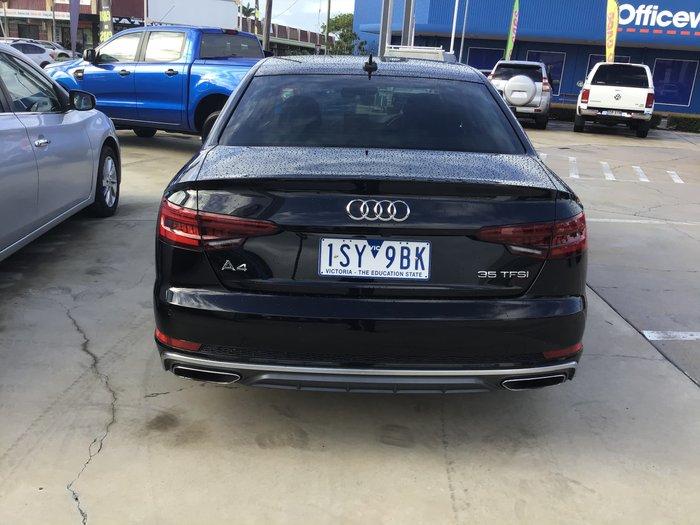 2018 Audi A4 35 TFSI S line B9 MY19 Brilliant Black