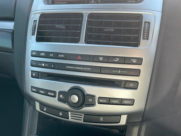 2014 Ford Falcon Ute XR6 Turbo FG X Black