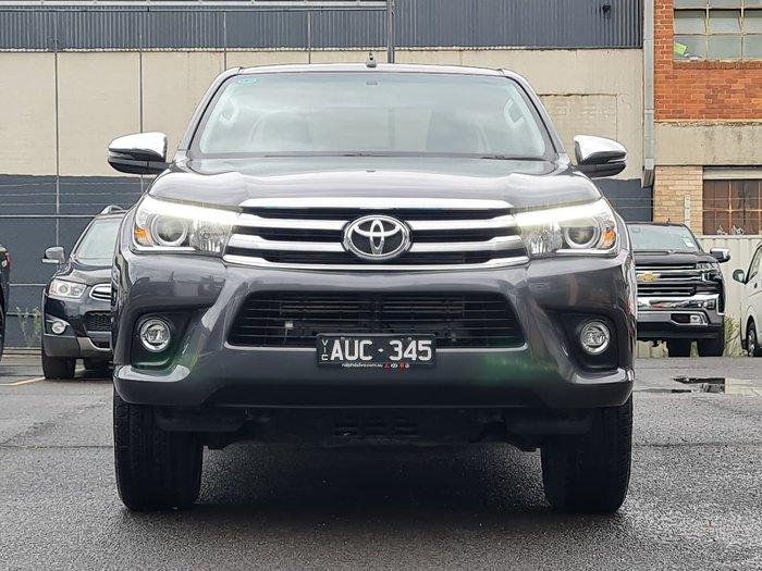 2018 Toyota Hilux SR5 GUN126R 4X4 Dual Range Grey