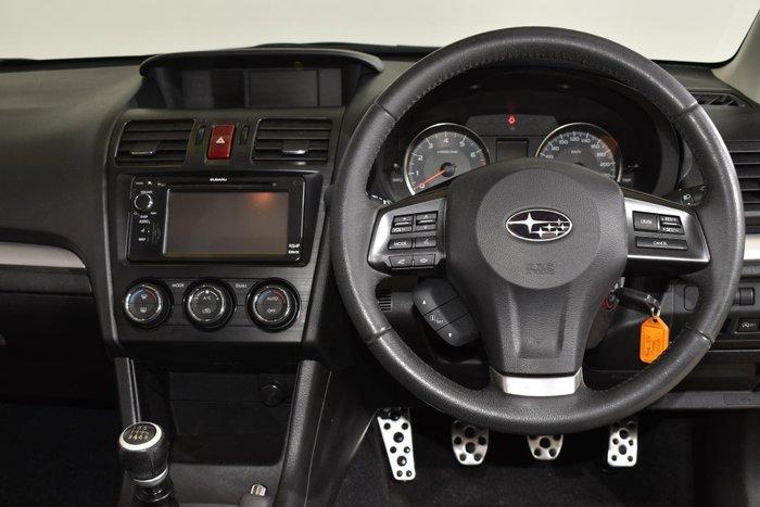 2012 Subaru XV 2.0i-S G4X MY12 AWD Black