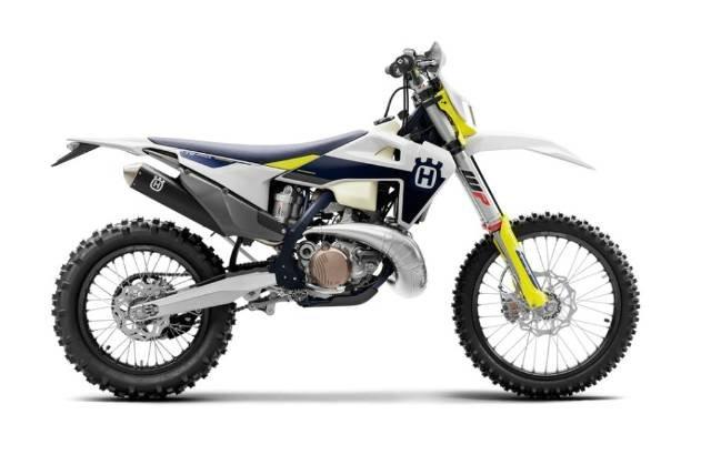2021 HUSQVARNA TE 250I WHITE