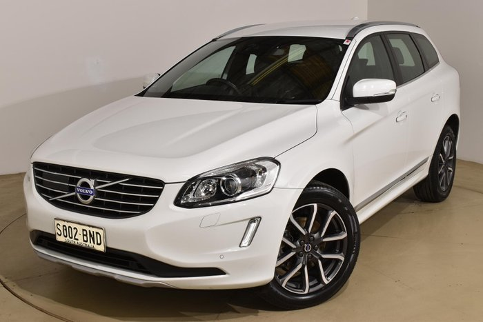 2017 Volvo XC60 T5 Luxury MY17 AWD Crystal White