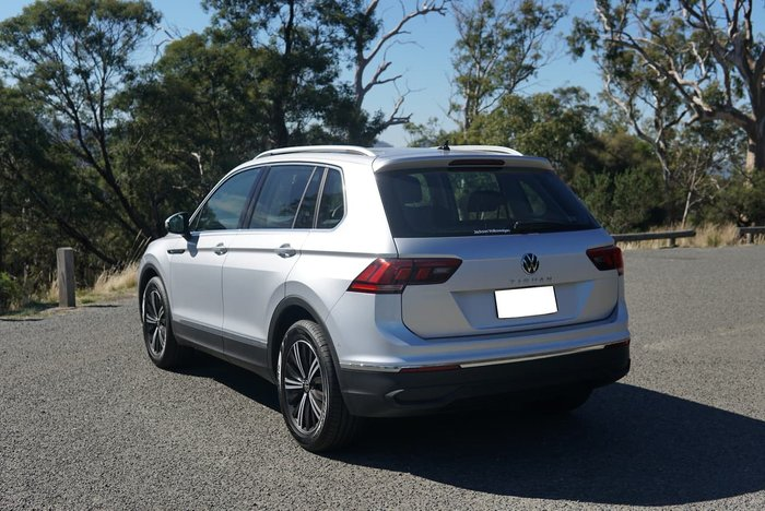 2020 Volkswagen Tiguan 110TSI Life 5N MY21 Silver
