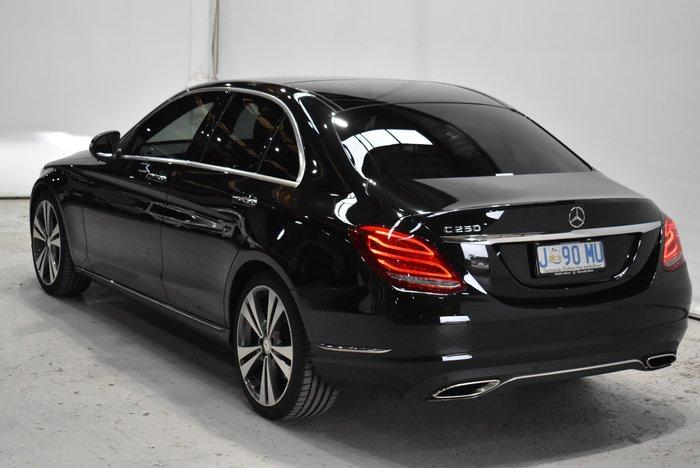 2015 Mercedes-Benz C-Class C250 W205 Black