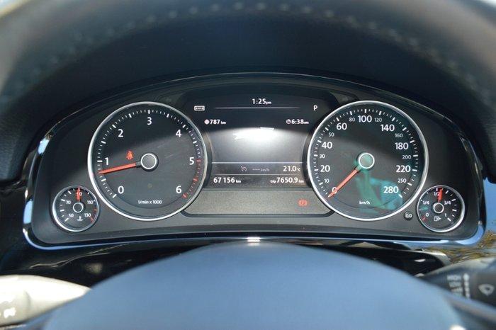 2014 Volkswagen Touareg 150TDI 7P MY14 Four Wheel Drive BLACK