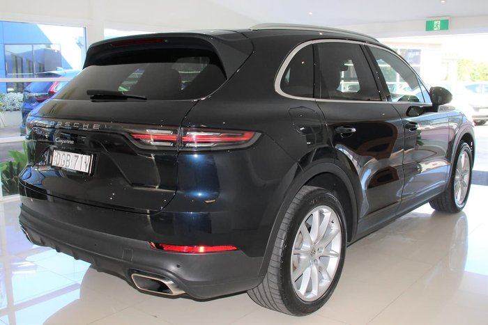 2018 Porsche Cayenne 9YA MY19 4X4 On Demand Blue