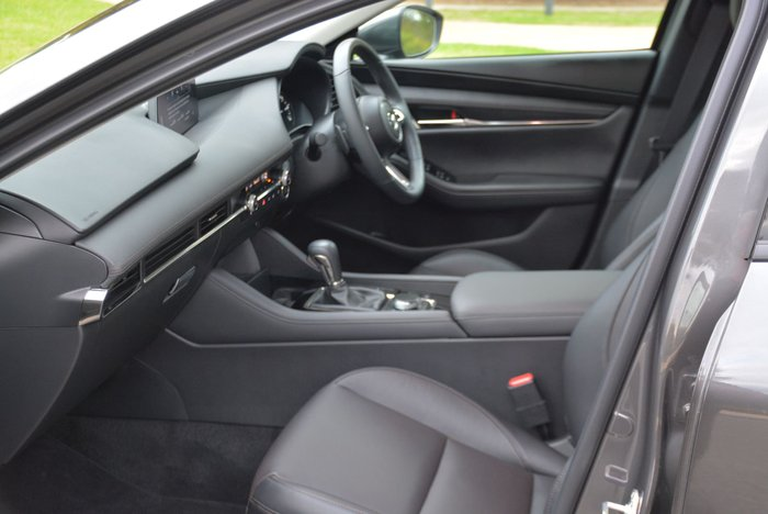 2020 Mazda 3 G25 GT BP Series Machine Grey