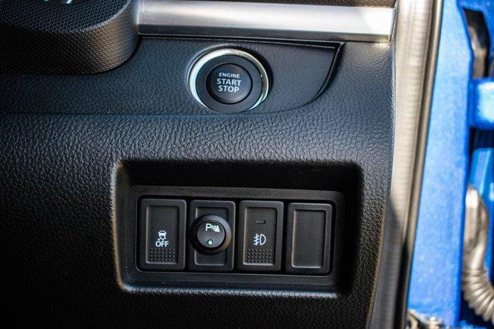 2015 Suzuki Swift GLX Navigator FZ MY15 Boost Blue