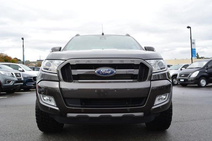 2017 Ford Ranger Wildtrak PX MkII 4X4 Dual Range Grey