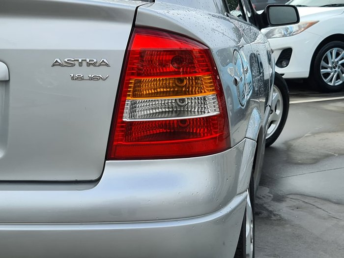 2001 Holden Astra CD TS Silver